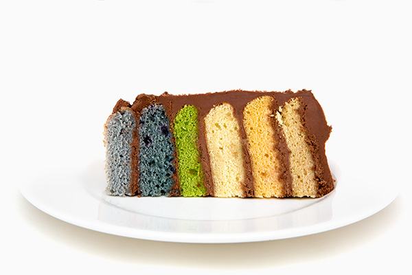 Making a Rainbow Cake with All Natural Food Coloring Review – Does ...
