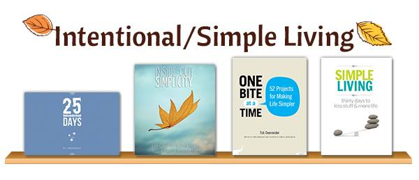 Intentional and Simple Living Books with the Harvest Your Health ebook Bundle