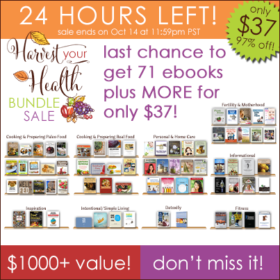 Harvest Your Health Bundle Sale 24hours