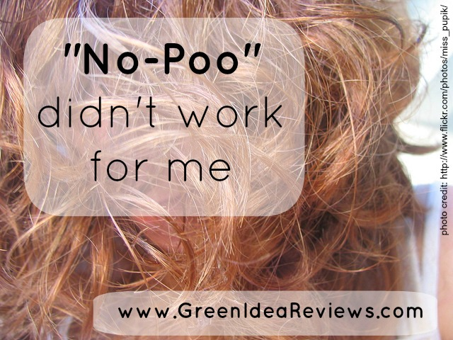 No-Poo didn't work pin
